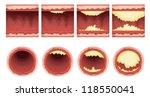 illustration of plaque... | Shutterstock .eps vector #118550041