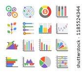 modern infographics flat icons    Shutterstock .eps vector #1185524344