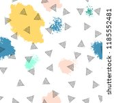triangles and abstract color... | Shutterstock .eps vector #1185552481