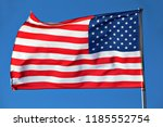 the flag of united states of... | Shutterstock . vector #1185552754