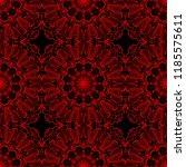 ornamental ethnic seamless...   Shutterstock .eps vector #1185575611