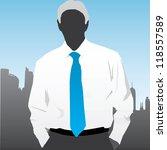 business man | Shutterstock .eps vector #118557589