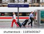 frankfurt  germany   june 28 ... | Shutterstock . vector #1185600367