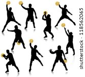 basketball man in action... | Shutterstock .eps vector #118562065