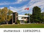 peterborough  ontario  canada   ... | Shutterstock . vector #1185620911