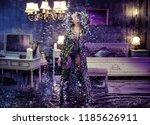 fashion art image   stunning... | Shutterstock . vector #1185626911