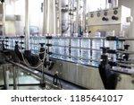 bottling plant   water bottling ... | Shutterstock . vector #1185641017
