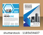 brochure template layout  cover ... | Shutterstock .eps vector #1185654607