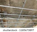 interior construction of... | Shutterstock . vector #1185673897