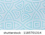perforated toilet paper as... | Shutterstock . vector #1185701314
