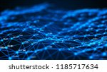 data technology background.... | Shutterstock . vector #1185717634