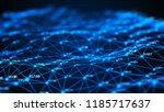 data technology background.... | Shutterstock . vector #1185717637
