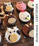 Farm Animal Fondant On Cupcakes