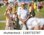 vilnius  lithuania   july 06 ... | Shutterstock . vector #1185732787