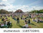 vilnius  lithuania   july 06 ... | Shutterstock . vector #1185732841