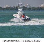 White Sport Fishing Boat...