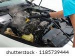 car detailing maintenance ... | Shutterstock . vector #1185739444