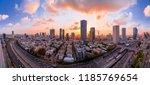 tel aviv yafo  israel   june 12 ...   Shutterstock . vector #1185769654