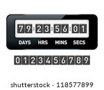 mechanical countdown timer.... | Shutterstock .eps vector #118577899