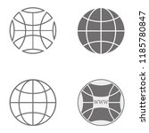 website pictogram. internet...