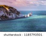 a break in the clouds...   Shutterstock . vector #1185793501