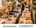 tokyo   japan   october 21st... | Shutterstock . vector #1185802057