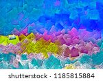 abstract background   colored... | Shutterstock . vector #1185815884