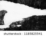 blank white creased crumpled... | Shutterstock . vector #1185825541