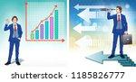 growth concept. finance... | Shutterstock .eps vector #1185826777