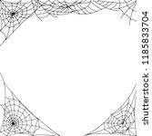 cobweb  spider web  | Shutterstock . vector #1185833704