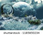 Frozen Scene Fairytale Bridge...
