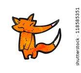 cartoon fox | Shutterstock .eps vector #118585351