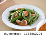 Fried String Bean With Shrimps