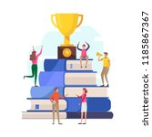 success education concept.... | Shutterstock .eps vector #1185867367