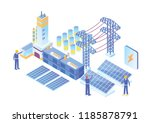 modern isometric smart... | Shutterstock .eps vector #1185878791