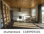 white living room interio with... | Shutterstock . vector #1185905101