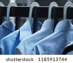 fresh clean laundry bright... | Shutterstock . vector #1185913744