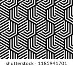 abstract geometric pattern with ... | Shutterstock . vector #1185941701