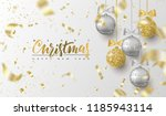 merry christmas and happy new... | Shutterstock .eps vector #1185943114
