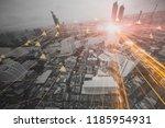 people in the information... | Shutterstock . vector #1185954931