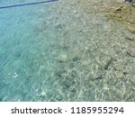 crystal clear water of aegean...   Shutterstock . vector #1185955294