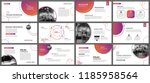 presentation and slide layout... | Shutterstock .eps vector #1185958564