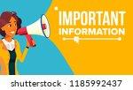 important information banner... | Shutterstock .eps vector #1185992437