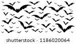 Happy halloween party flying bats Vector eps  hallow 31 october fest horror bat creepy fun funny horror dia october fest