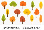 vector illustration set of... | Shutterstock .eps vector #1186055764