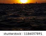 the sun is going down painting... | Shutterstock . vector #1186057891