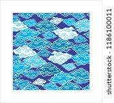 batik cirebon vector | Shutterstock .eps vector #1186100011