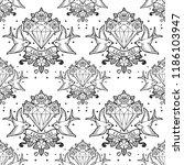 old school tattoo style...   Shutterstock .eps vector #1186103947