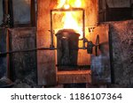 casting and foundry. ferrous...   Shutterstock . vector #1186107364