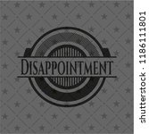 disappointment realistic black...   Shutterstock .eps vector #1186111801